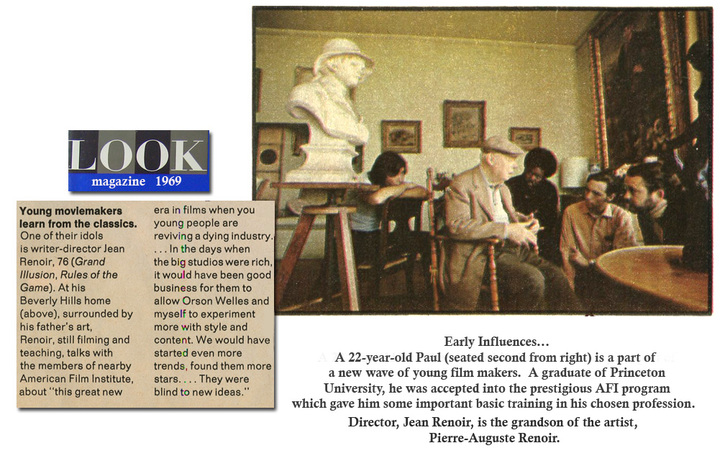 early influences - Jean Renoir - Look Magazine article