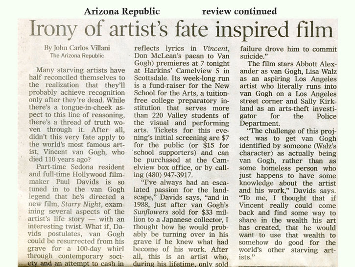 arizona republic review continued