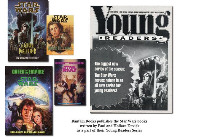 Bantam Books publishes the Star Wars books