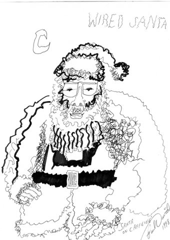 wired santa
