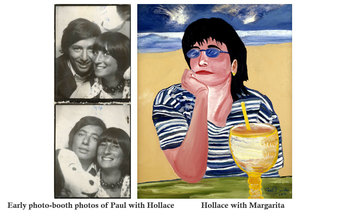 Photo of Paul + Hollace - Hollace with Margarita
